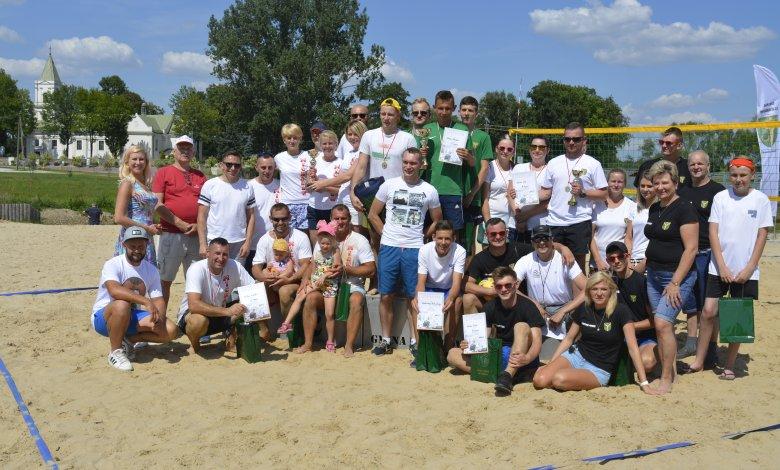Turniej Sołectw o Puchar Wójta w Siatkówkę Plażową