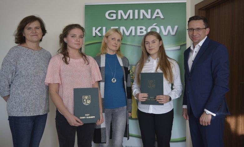 Nagrody Wójta Gminy Klembów dla uzdolnionej młodzieży z Gminy Klembów przyznane!