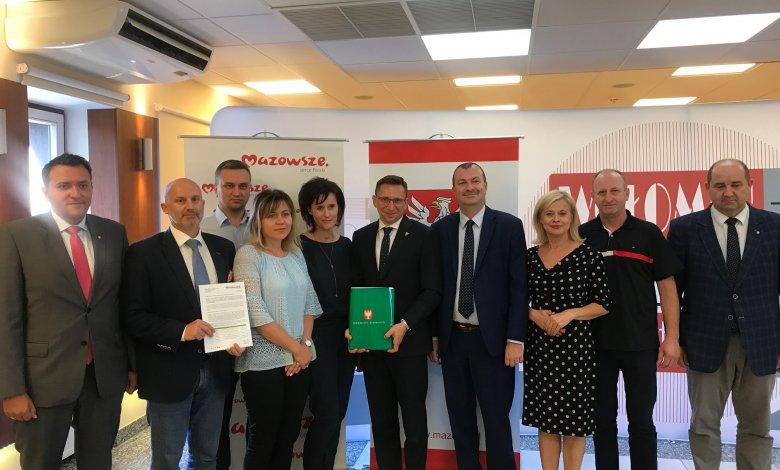 Kolejne wsparcie finansowe z Urzędu Marszałkowskiego dla Gminy Klembów